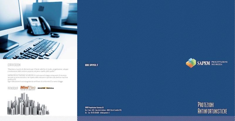 Brochure SAPEM protezioni antinfortunistiche
