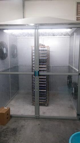 cabina di raffreddamento