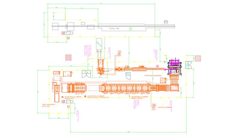 layout protezioni perimetrali