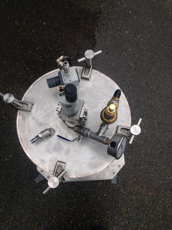 Miscelatore pneumatico