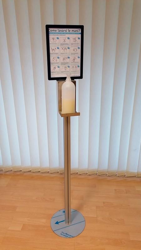 progetto porta dispenser